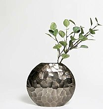 Metall-Vase gehämmer