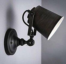 Metall Verstellbare Wandlampe Vintage Industrial