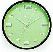 Metall Wand Clock Zylinder Mauer Uhr Restaurant Schlafzimmer Mauer Dekoration Uhr 30 cm