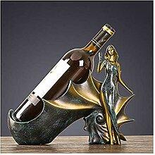 Metall Weinhalter Tischplatte Weinregal Kleines