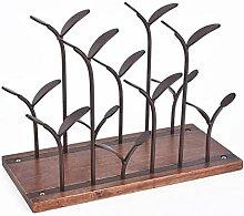 Metall Weinregal Moderne Handwerk Kunstwerk