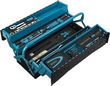 Metall-Werkzeugkasten mit Sortiment 190/79 ·
