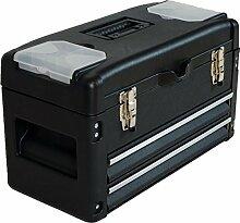 METALL Werkzeugkiste mit 6 Funktionen WK2-B BLACK