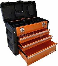 METALL Werkzeugkiste mit 7 Funktionen B3061BC von