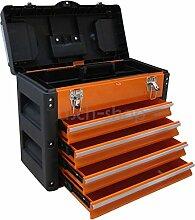 METALL Werkzeugkiste mit 8 Funktionen 3061BB von