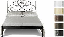 Metallbett Amarete, 160x200 cm, weiß