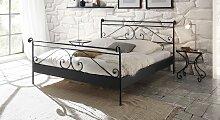 Metallbett Cerete, 140x210 cm, anthrazit