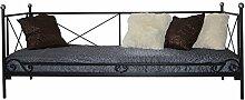 Metallbett Lattenrost Bettgestell Jugendbett Schlafzimmerbett Mod.22 (80 x 200 cm)