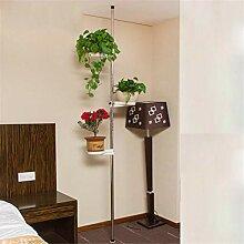 Metallblumen-Display Rack, Federspannung Pole