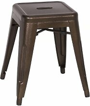 Metallhocker Sitzhocker Hocker - Kupfer - M-94115-18/1476