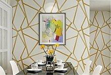Metallic Geometric Tapete Für Wände Rollen