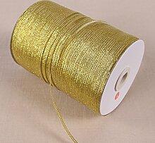 Metallic Organzaband gold viele Größen