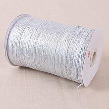 Metallic Organzaband silber viele Größen