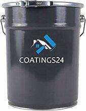 Metalllack Metallfarbe Buntlack seidenmatt verschiedene Farben | Farbe für Metall Stahl Eisen für Innen und Außen | Metallbeschichtung für Tor, Zaun, Industrie Container | 20L, Beige