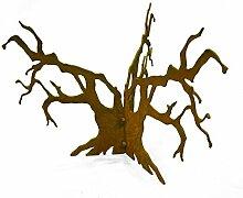Metallmichl Edelrost Baumgestell für Halbkugeln