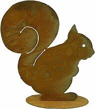 Metallmichl Edelrost Eichhörnchen Squirrel 21 cm