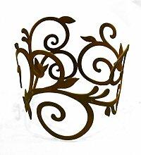 Metallmichl Edelrost Ornamentring für
