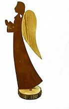 Metallmichl Engel Veronika mit Holz-Flügel 70 cm