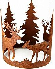 Metallmichl Forest Ring mit Waldszene Durchmesser