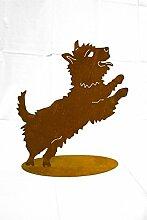 Metallmichl Rost Hund - Westi -