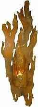 Metallmichl Wandlicht Fackel für Kerzen 63cm