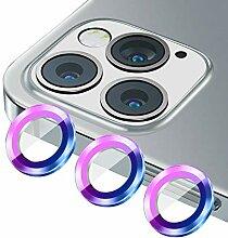 Metallring & gehärtetes Glas Kamera
