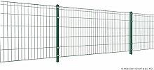 Metallzaun-Set MICHL - Höhe 80 cm Länge 24 m