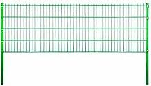 Metallzaun Sylt B200 x H83 cm, grün