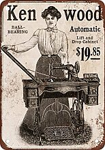 metalsigns 1902Kenwood Automatische Nähmaschine