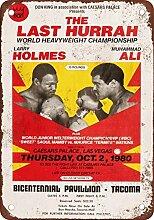 metalsigns 1980Muhammad Ali vs. Larry Holmes