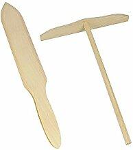 METALTEX Crepes Spachtel-Set Holz