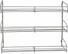 Metaltex Domino Gewürzbord 3-Etagen, 30x7x30cm,