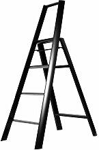 Metaphys - Lucano 4 Step Trittleiter, schwarz