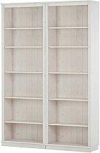 Meteora 2x Regal Kiefer weiß Bücherregal