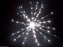 Meteorstern Schneeflocke 120 LED Adventsstern Ø