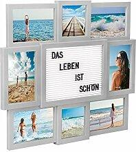Metradex Bilderrahmen Collage mit Letterboard: