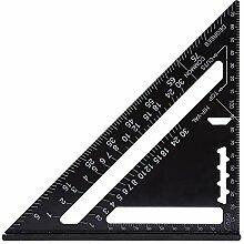 Metrisches Aluminiumlegierungs Dreieck Lineal