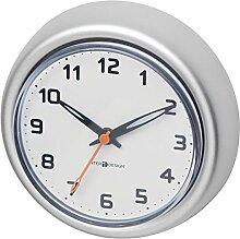 MetroDecor mDesign Saugnapf Badezimmer Uhr -