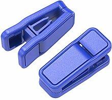 MetU Kunststoff-Kleiderbügel-Clips, schmal, 20