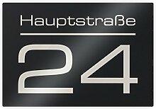Metzler Hausnummer Hausnummernschild mit