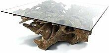 Meubletmoi Couchtisch, quadratisch, 70 cm, aus