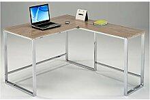 Meubletmoi Eck-Schreibtisch 120cm Waschtisch