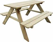 mewmewcat Picknicktisch Kinder Sitzgruppe