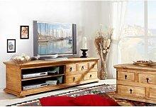 Mexico Möbel - TV-Kommode, Lowboard, Phonotisch,