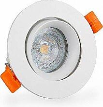 Mextronic Einbauleuchten dimmbar Lochmaß 75mm LED