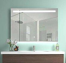 Meykoe 100x70x4,5cm LED Beleuchtung Badspiegel,
