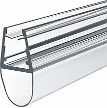 Meykoe 2x100cm Duschtür Dichtung Ersatzdichtung,