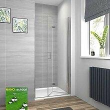 120x195cm Dusche Schiebet/ür Duschabtrennung Duschkabine 6mm Klarglas ohne Duschtasse mit Seitewand 90cm