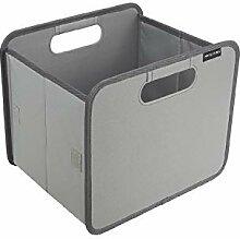 Meyliving Faltbox S Grau 25x32x27,5cm Polyester