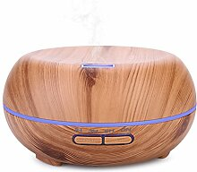 MFBEE Aroma-Holz-Luftbefeuchter Ultra-Leise 400Ml